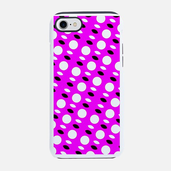 Pink Sequel Shapes 4Carly iPhone 7 Tough Case