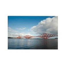 Forth Rail Bridge view Rectangle Magnet