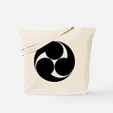 Three clockwise swirls Tote Bag