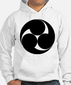 Three clockwise swirls Hoodie