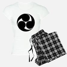 Three clockwise swirls Pajamas