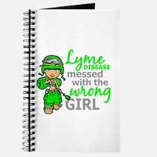 Lyme Disease Combat Girl Journal