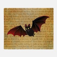 GONE BATTY Throw Blanket
