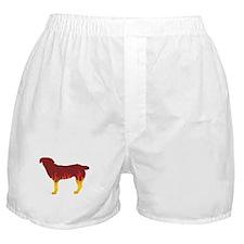Entlebucher Flames Boxer Shorts