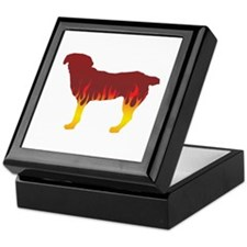 Entlebucher Flames Keepsake Box