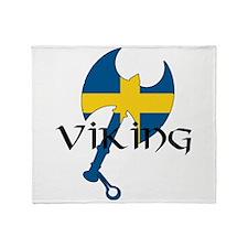 Swedish Viking Throw Blanket