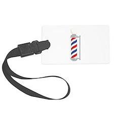 Barber Shop Pole Luggage Tag