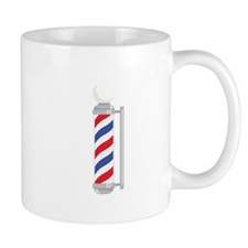 Barber Shop Pole Mugs