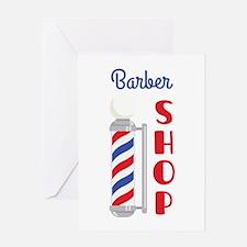 Barber Shop Greeting Cards