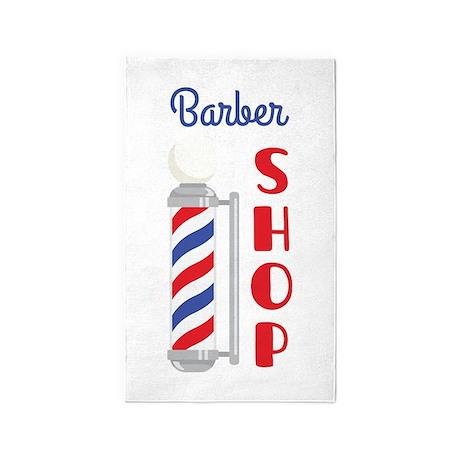 Barber Shop 3'x5' Area Rug