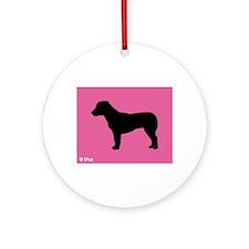 Terrier iPet Ornament (Round)