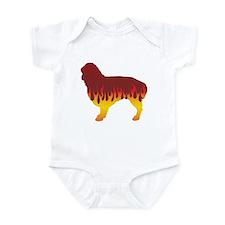 Spaniel Flames Infant Bodysuit