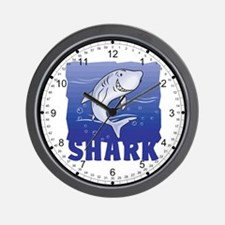 Kid Friendly Shark Wall Clock