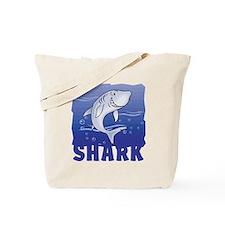 Kid Friendly Shark Tote Bag