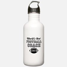 Worlds Best Football Coach Water Bottle