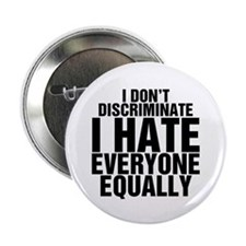 Hate Equally Button
