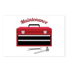 Maintenance Postcards (Package of 8)