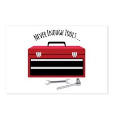 NEVER ENOUGH TOOLS….. Postcards (Package of 8)