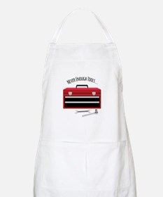 NEVER ENOUGH TOOLS….. Apron