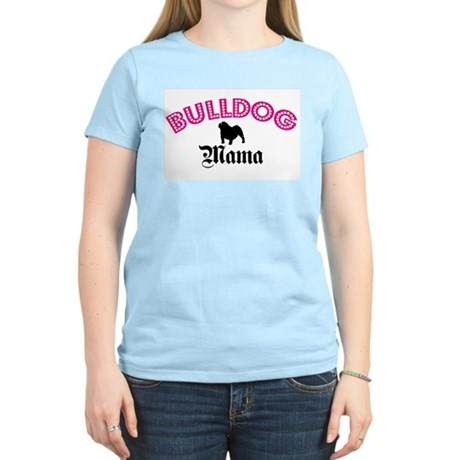 Bulldog Mama Women's Light T-Shirt