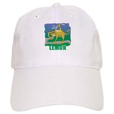 Kid Friendly Lemur Baseball Cap