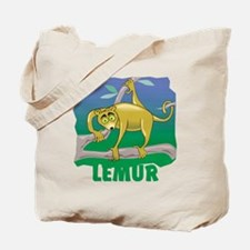 Kid Friendly Lemur Tote Bag
