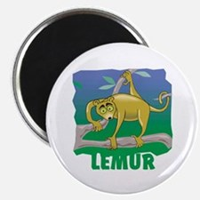 "Kid Friendly Lemur 2.25"" Magnet (100 pack)"