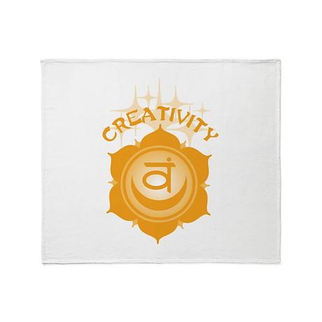 Creativity Throw Blanket