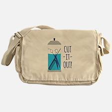 Cut-It-Out Messenger Bag
