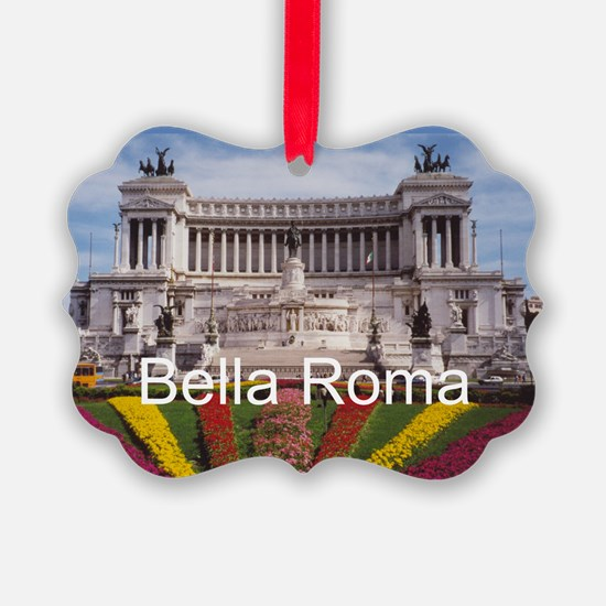 Customizable Rome Italy Souvenir Ornament