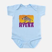 Kid Friendly Hyena Infant Bodysuit