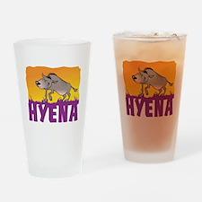 Kid Friendly Hyena Drinking Glass