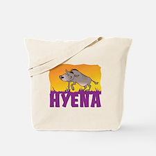 Kid Friendly Hyena Tote Bag