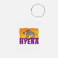 Kid Friendly Hyena Keychains