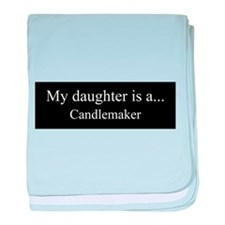 Daughter - Candlemaker baby blanket