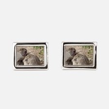 nit picking Rectangular Cufflinks