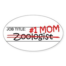 Job Mom Zoologist Decal