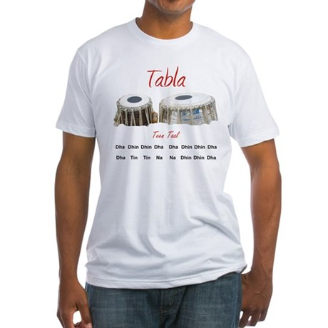 Tabla - Teen Taal 2 Fitted T-Shirt