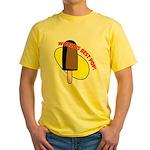 World's Best Pop Yellow T-Shirt