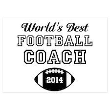 Worlds Best Football Coach Invitations