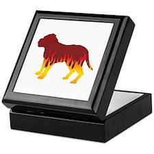 Dogue Flames Keepsake Box