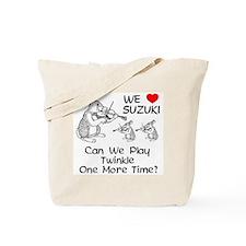 Suzuki Violin Bunnies Tote Bag