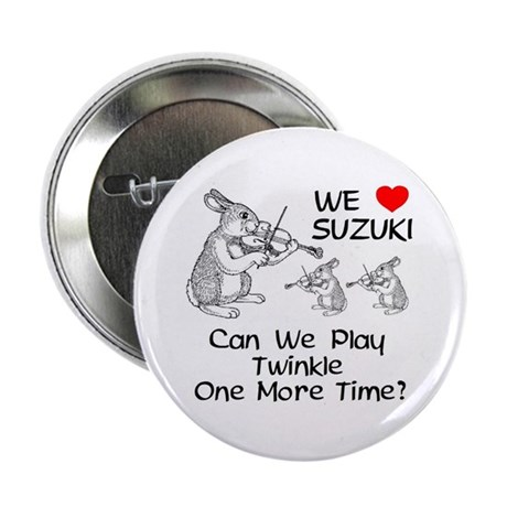 "Suzuki Violin Bunnies 2.25"" Button"
