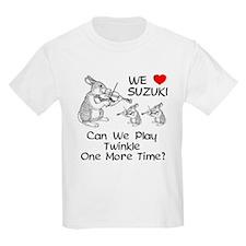 Suzuki Violin Bunnies T-Shirt