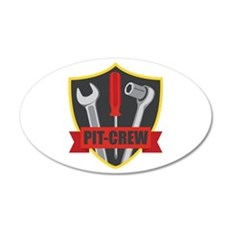 PIT-CREW Wall Decal