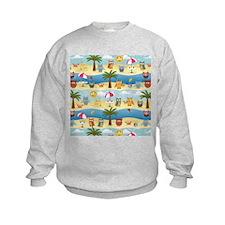 summer owls Sweatshirt