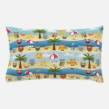 summer owls Pillow Case
