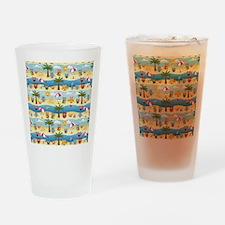 summer owls Drinking Glass