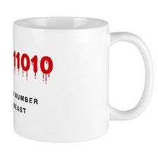 The Binary Number of the Beast Mugs
