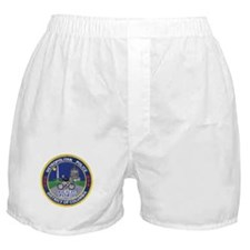 DC Police Bicycle Patrol Boxer Shorts